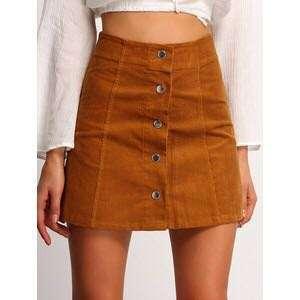 Button Down AA skirt