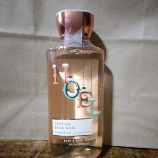 Bath and body vanilla bean Noel shower gel