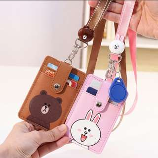 Office / Student Card Lanyard - LINE Friends