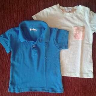 Bundle Boy T-Shirts 18M