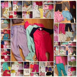 Preloved baby girl clothes for only 30 pesos