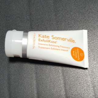 Kate Somerville ExfoliKate Intensive Exfoliating Treatment 15ml hollywood's 2 minute facial