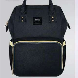 Diaper Bag - Black