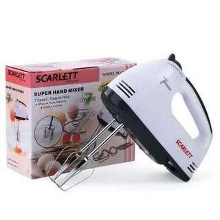 Scarlett hand mixer
