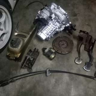 Set Gearbox GTI