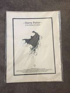 Harry Potter poster / parchment / display