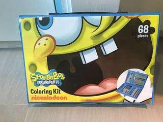 海棉寶寶顏色套裝 SpongeBob Coloring Kit