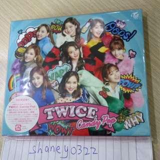Ready stock Twice candy pop Limited A version