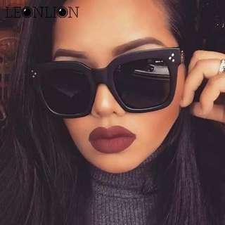 Fashion Square Sunglasses Women Designer Luxury Man/Women Sun Glasses Classic Vintage UV400 Outdoor Oculos De Sol