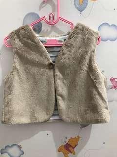 Fur Vest by Tiny Clouds