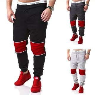 (2條/2pairs) 戶外旅行運動男士女士潮流創意型格寬鬆長褲 (有碼) (Serieseigh系列) (包Buyup自取) (long pants)