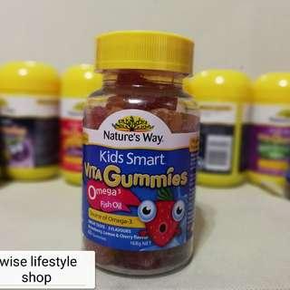 Nature's Way 兒童omega3  魚油軟糖60粒