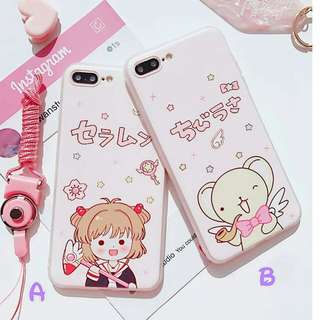 百變小櫻iPhone 6~X 殼(需要訂)