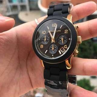 MICHAEL KORS Black Catwalk Chronograph Watch (MK5191)