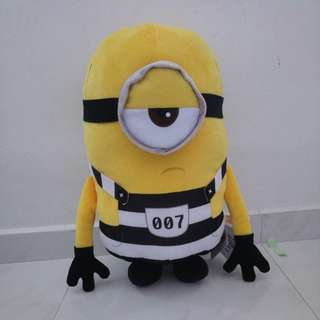 50cm tall Minion plush toy, brand new with tags