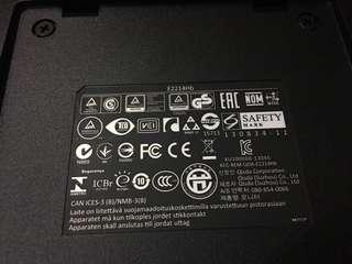 22 inch Dell monitor