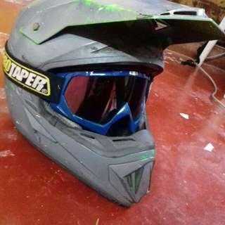 Helmet cross fullface