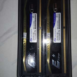RAM Team Elite DDR3 2x2GB Dual Channel PC 12800