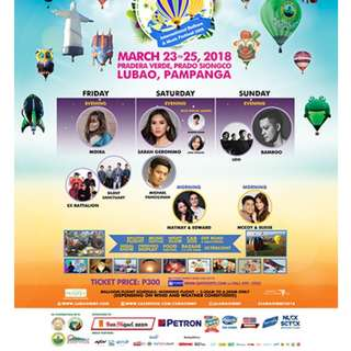 LUBAO INTERNATIONAL BALLOON & MUSIC FESTIVAL 2018
