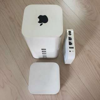 Apple airport extreme and express
