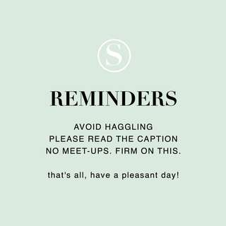 Please take note 💕