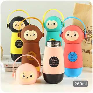Cute cartoon water bottle