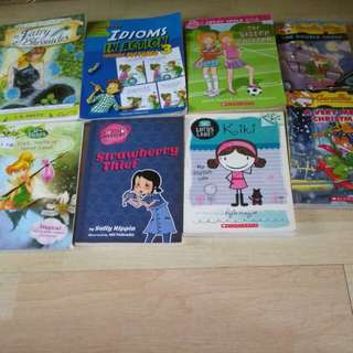 Clearance story books