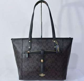 C O A C H. TOTE AUTHENTIC
