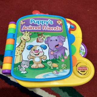 Buku elektronik fisher price