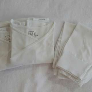 Baby Clothes - Tie Sides