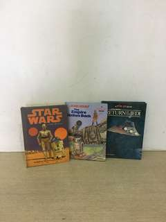 Vintage Star Wars pop up books