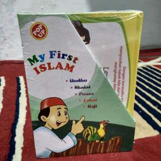 Buku my first islam