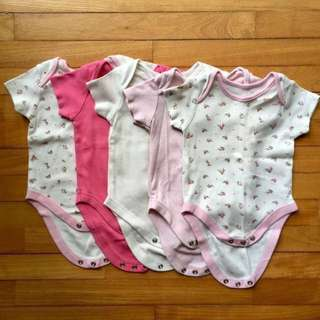 (0 to 3 Months) Mothercare Baby Rompers