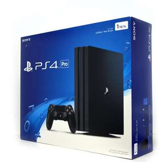 WTB/ WTT New/ Preowned/ Faulty PS4 Pro Console.