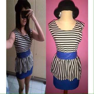 Scallop pattern dress