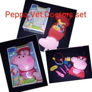 Peppa pig Vet. Doctor set