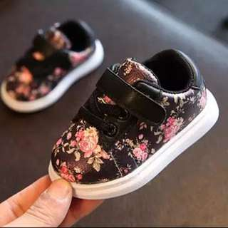 Floral Sneakers - Toddlers