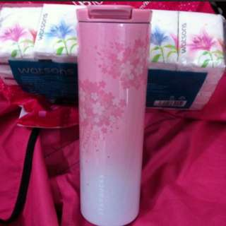 Starbucks Sakura Tumbler pink stainless steel limited edition