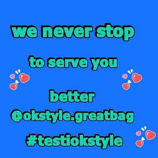 WE NEVER STOP TO SERVE YOU BETTER