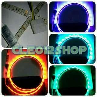 LED Strip 5050 RGB 50cm + Magnet + Molex (Modifikasi PC/ Mod PC)