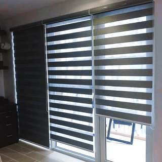 Window and Door Blinds - Roll Up Blinds