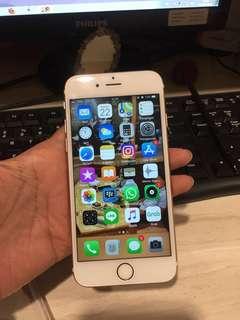 Iphone 6s 16gb rosegold milik pribadi fullset
