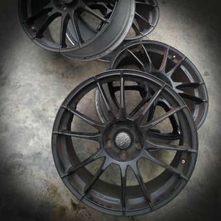 OZ Ultraleggera 19 Black 5x110 8J ET42 Sports Rims
