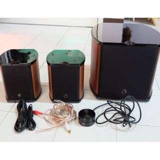 HiVi Swanspeakers M50W 2.1 Multimedia Speakers
