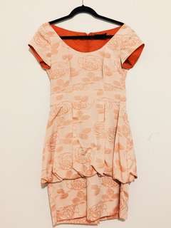 Patricia Fields Peplum Dress