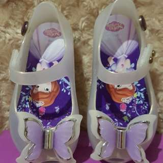 Sofia The First Jelly LED Shoes like Mini Melissa