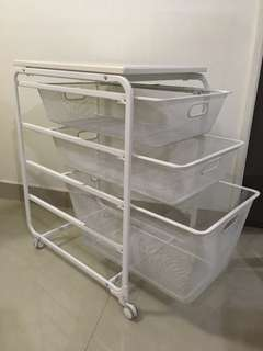 IKEA ALGOT WITH FULL ACCESSORIES