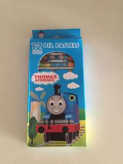 Thomas & Friends Non Toxic Oil Pastels