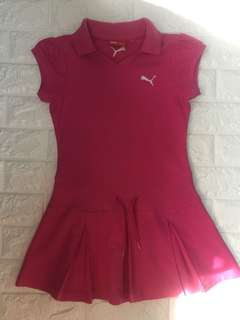 Puma cheerleaders/tennis dress