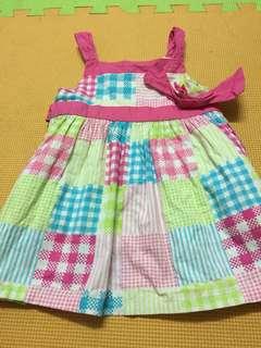 Gingersnap Pattern dress